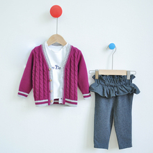 Baby pants spring and autumn wear all kinds of baby autumn cotton big butt pants 0-3-year-old baby autumn clothes