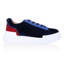 Buscemi women's Navy casual shoes low top 300105