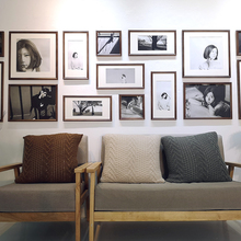 Large wall, Nordic staff dormitory, living room, net, red washing, photo wall, decoration, photo frame, wall hanging, combination, creativity and simplicity