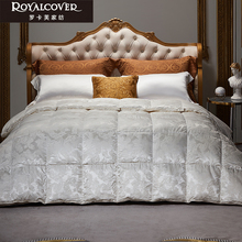 Royalcover / ROCAF 98% imported goose down zone insulation goose down quilt Budapest