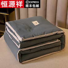 Hengyuanxiang thickened warm quilt winter quilt spring and autumn quilt core single quilt mattress space quilt quilt air conditioning quilt