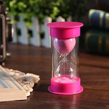Student safety hourglass 30 15 10 minutes eating homework timer toy creative gift