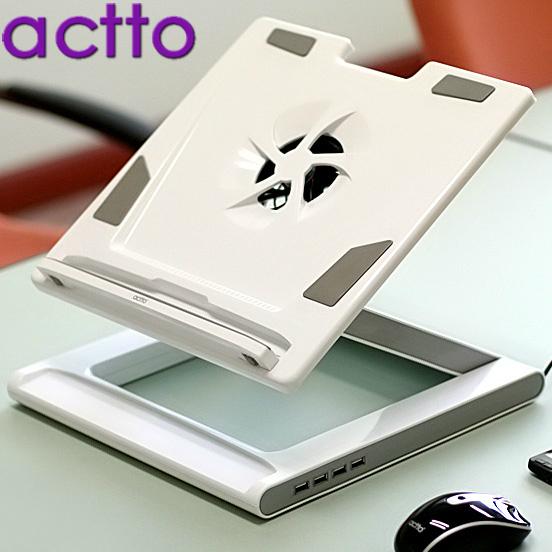 охлаждающая подставка для ноутбука Actto NBS07H USB