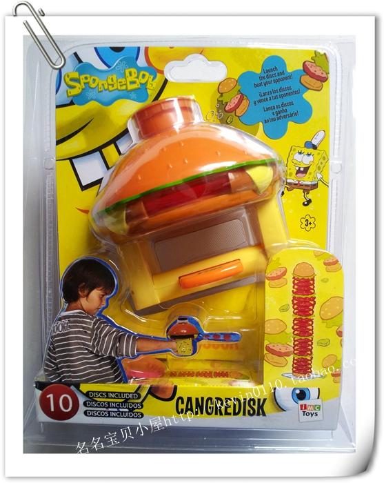 Кукольные фигуры, аниме, косплей, настольные и другие игры ㊣Подлинной Спанч Боб Спанч Боб cangre диск выбросов блюдо ММЦ игрушки
