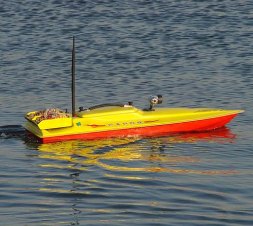 Хороший и элегантный, умный пульт дистанционного управления, рыбалка, вложение, рыбалка в подарок Hookboat 105 может быть оснащен GPS позиционированием рыбы