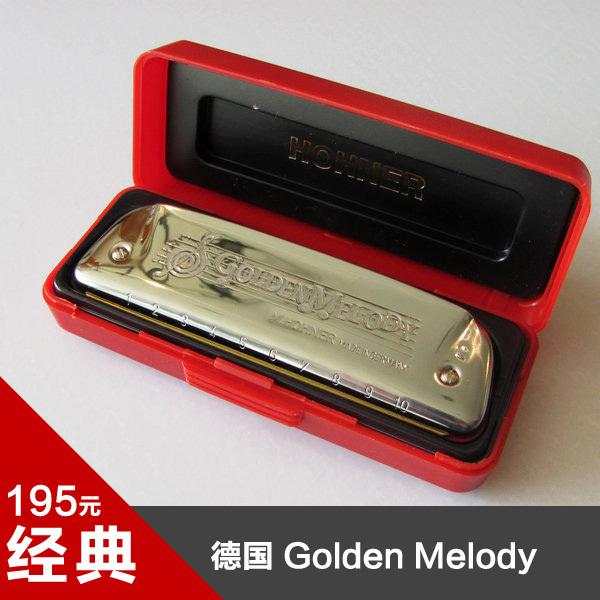 губная гармонь Hohner  Golden Melody GM +DVD