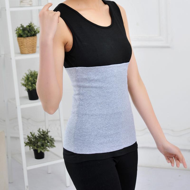 Mở rộng eo cao dành cho người lớn bảo vệ bụng bảo vệ dạ dày dạ dày ngủ vành đai bụng bụng cotton đàn hồi đóng tạp dề