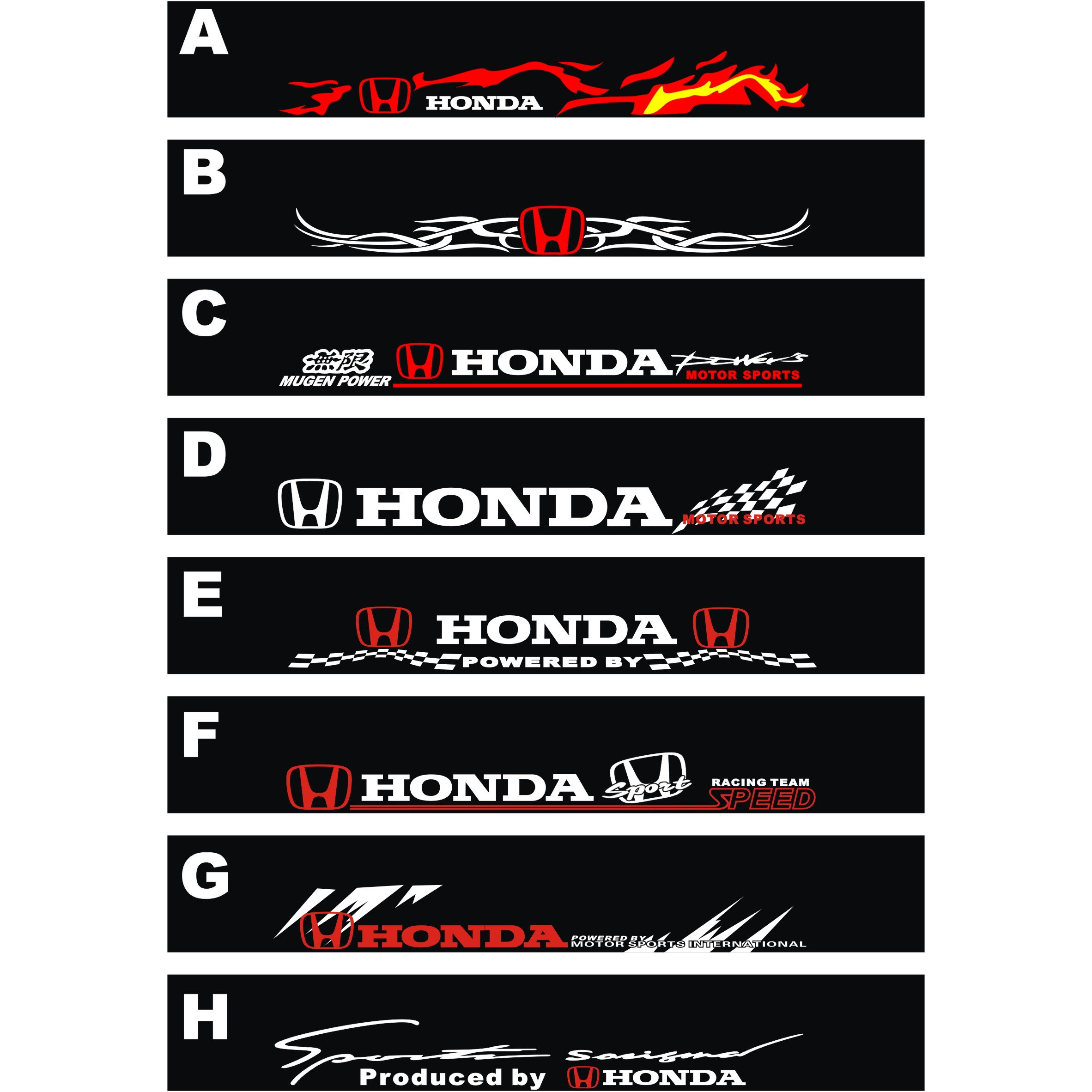 Stickers For Honda Accord Custom Vinyl Decals - Stickers for honda accord
