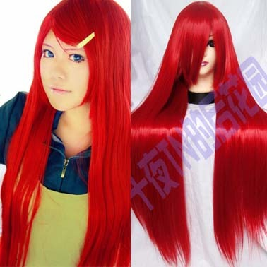 taobao agent Ten Nights TN Red Straight Hair Red Kwai Greer Shana Red Meiling Caterina Cos Wig