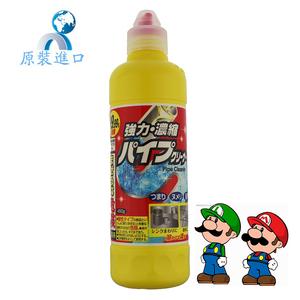 日本进口强力厨房浴室下水道疏通剂 塑料管道疏通剂排水口除臭剂