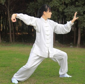 Tai chi clothing chinese kung fu uniforms Tai Chi Clothing clothes autumn and winter hemp yarn Tai Chi Clothing clothes cotton hemp Tai Chi Clothingquan martial arts clothes training clothes for men and women