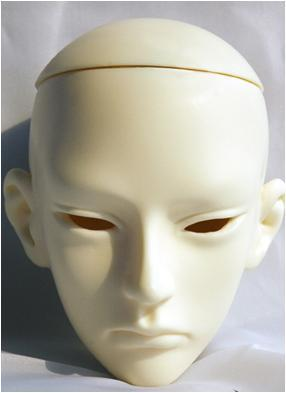 taobao agent [Ghost Deed Human Type] SPIRIT 71.5CM Uncle--Thorn Naked Head (1/3BJD Doll)