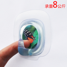 Buy 2, get 1 free, Miko Miaomiao paste, strong adhesive hook, load-bearing 10kg, wall suction cup of toilet, waterproof and traceless hook