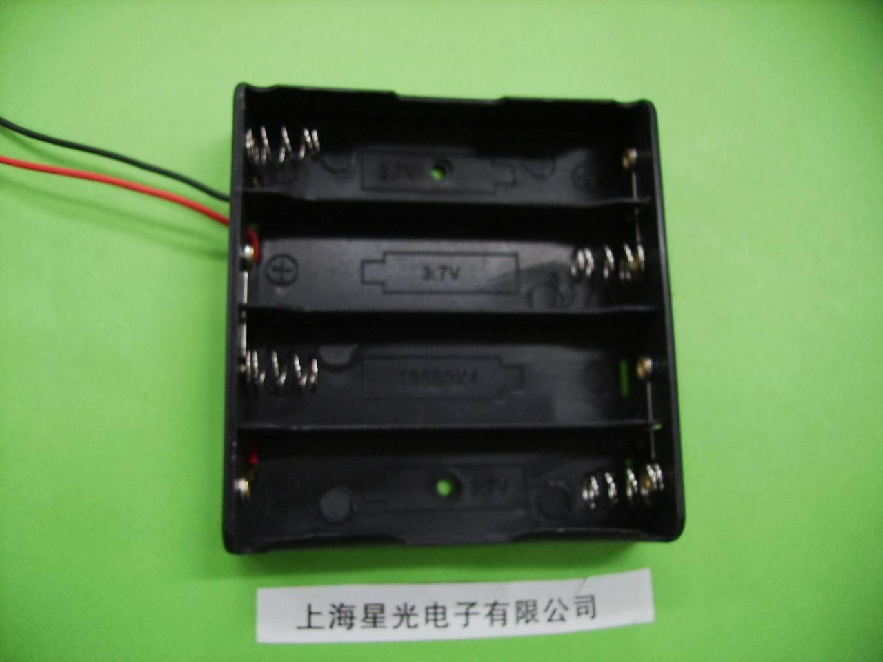 Блок для аккумуляторов 18650 Спец раздел 18650 ящик аккумуляторной батареи 4 18650 серии коробка 4 в разделе 3. Чехол аккумулятор 7В 14. Коробка 8В аккумулятор 18650