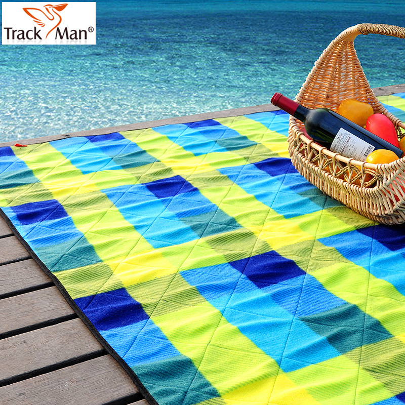 TrackMan自游人户外野餐垫加厚低碳防撕裂防潮垫超大毯子悦动