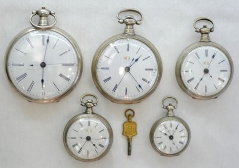Сувенир Большой восемь Вэй столом антикварные карманные часы (Granville) (семейство антикварные часы)