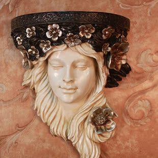 Настенный аксессуар Глава красоту настенный американский кантри украшения дома кафе фея гобелены гобелены
