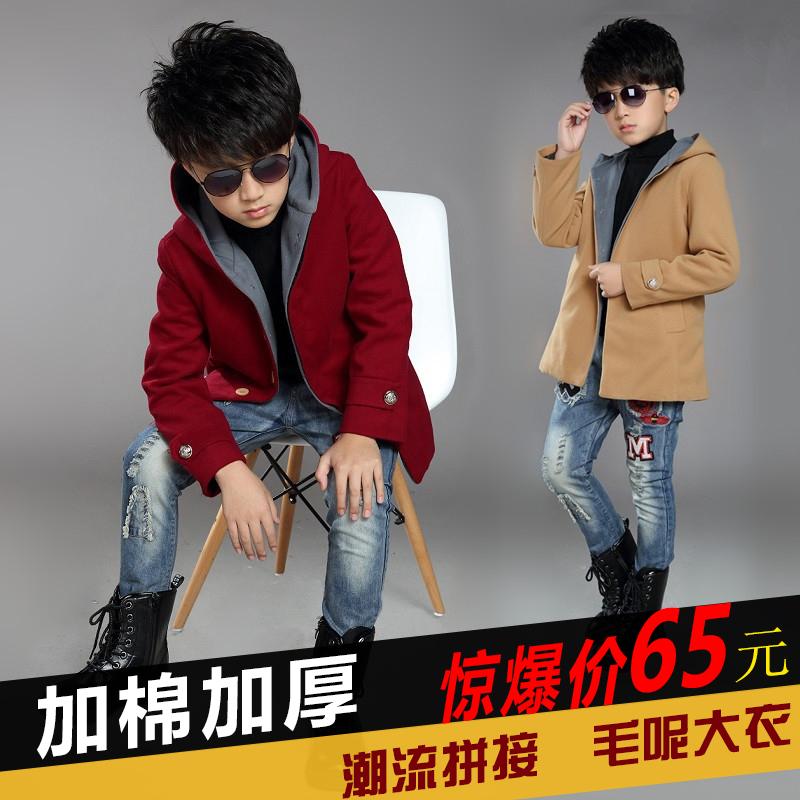 男童皮衣外套秋冬韩版时尚潮酷鹿皮绒短外套加绒加厚机车帅气上衣