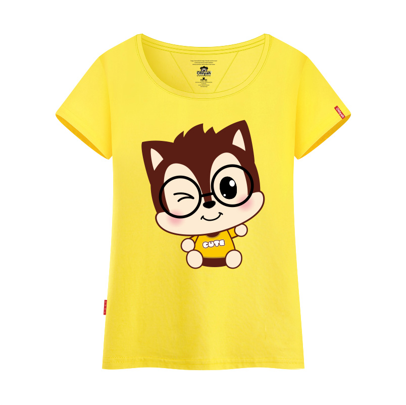 usd 55 20 ohlyah brand cartoon t shirt women s 2018 new han chao