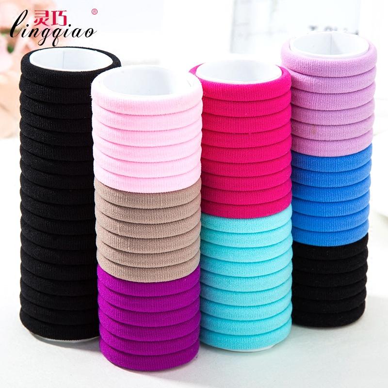 Smart high elastic head rope hair accessories Korean hair ring hair rope  rubber band tie the 173f25ad1c5