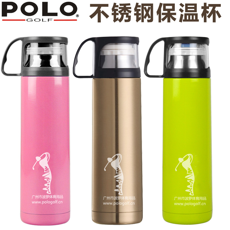 polo golf new stainless steel thermos 500ml hot water Cup men and women  portable bottle b45d5ecf3