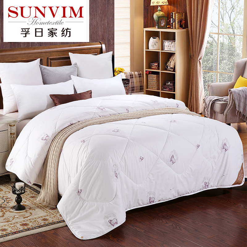 USD 149.53] Sunvim home 100% pure wool quilt thick warm autumn and ... : thick quilt - Adamdwight.com
