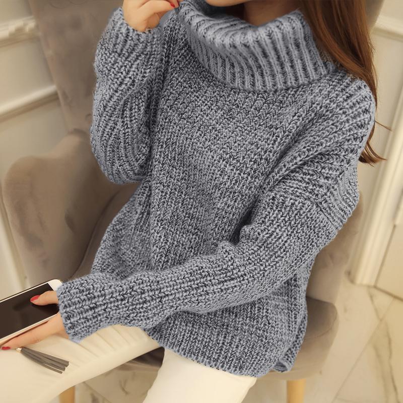 代购SZ2015新款韩版东大门复古混色短款半高领拉链长袖套头毛衣