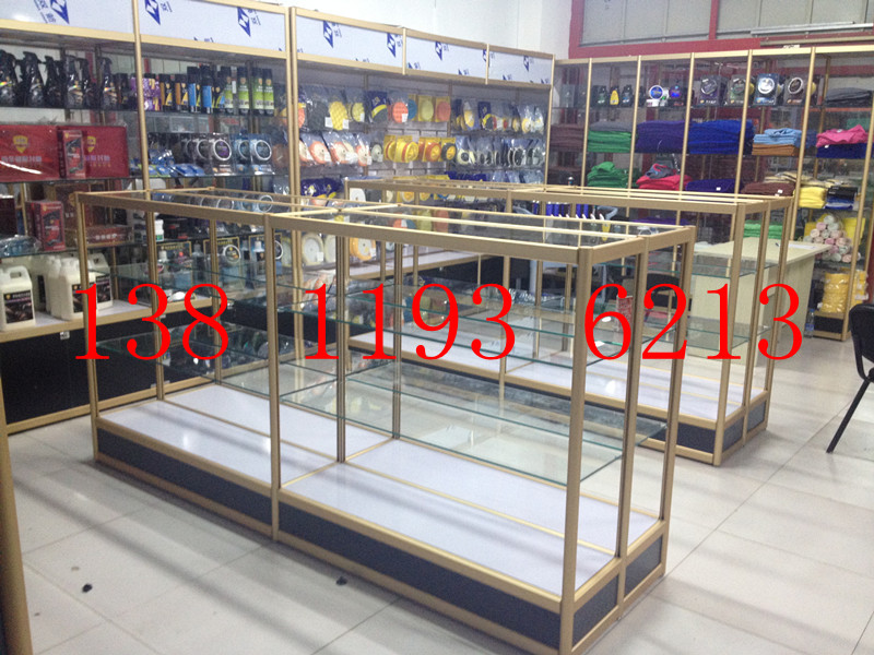 Special Car Supplies Display Shelf Nakajima Shelf Double Sided Display  Cabinet Beijing Shelf Perfume Cabinet