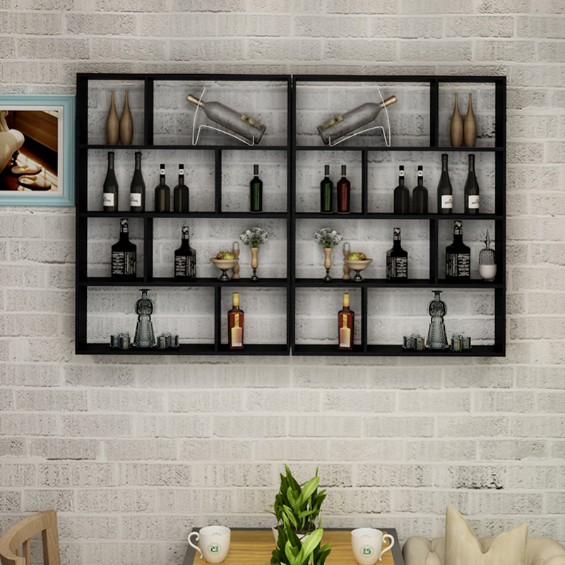 Usd 63 22 Wine Rack Creative Hanging Wall