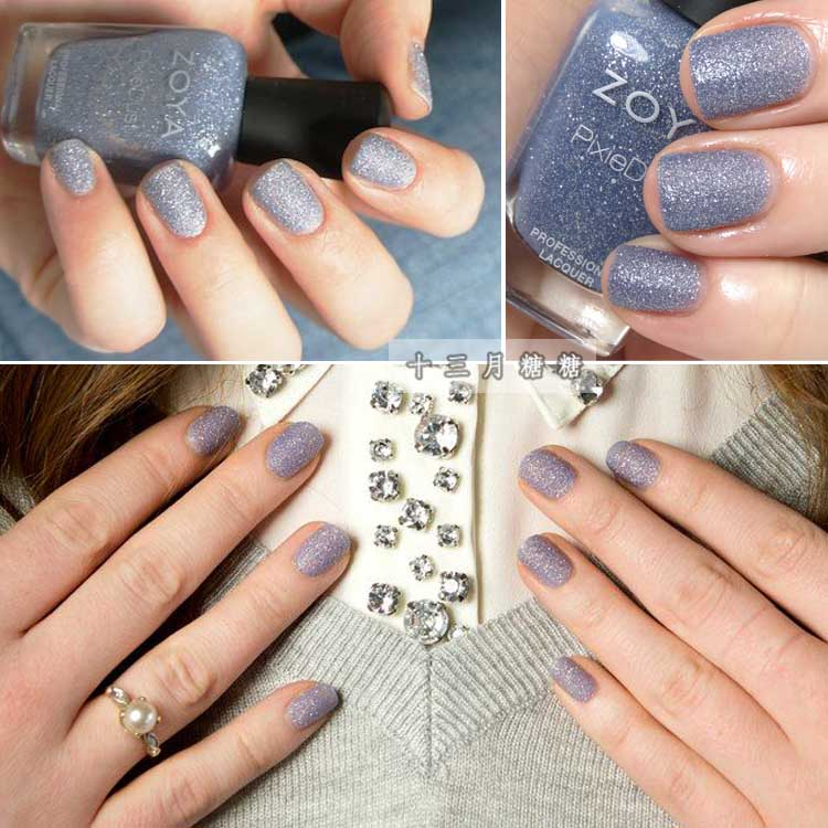 USD 9.11] Genuine American ZOYA nail polish star frosted quicksand ...