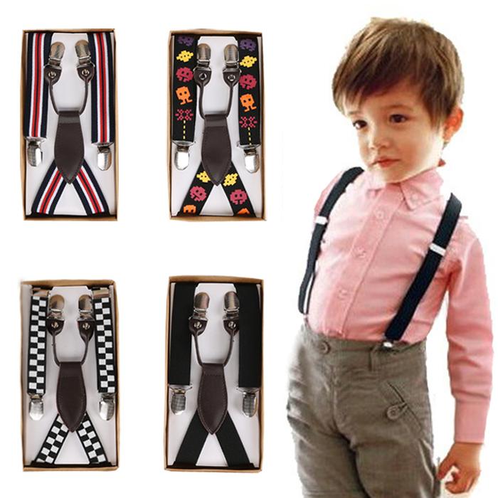 Небольшой джентльмен эластичность ремень ребенок ремень корейский мальчиков ремень клип ребенок девочки производительность черный цвет ремень