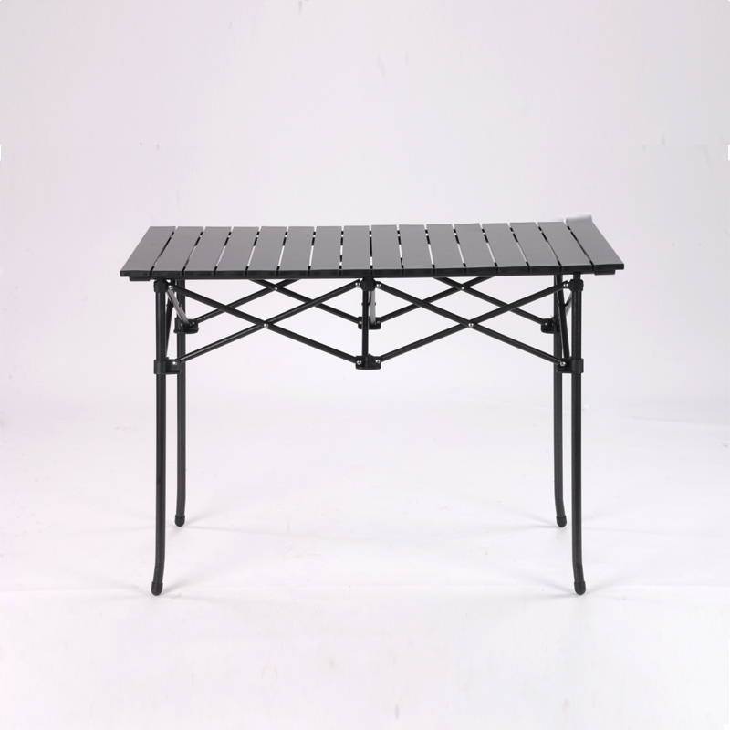 Heightening Long Aluminum Table Folding Table Beach Chair Aluminum Alloy  Table Self Driving Table Outdoor