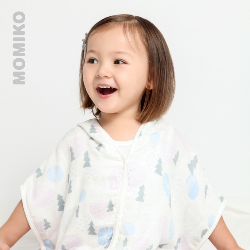 3558bbd743 Li family baby mummy Miya baby bathrobe children bamboo cotton gauze  bathrobe baby cloak bathrobe