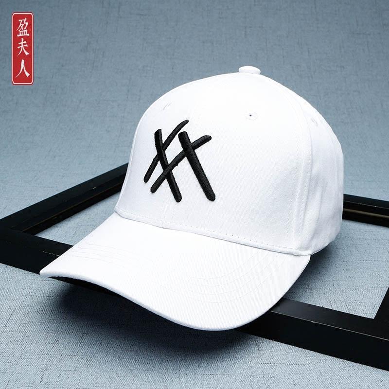 鸭舌帽女韩版百搭 2017学生街头帽子男夏休闲嘻哈简约黑色棒球帽