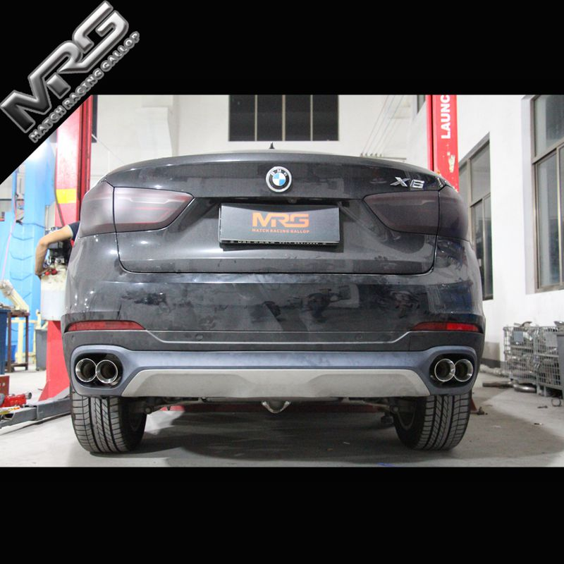 Usd 1428 04 Bmw X6 Exhaust Pipe Modified Original Double Four Out