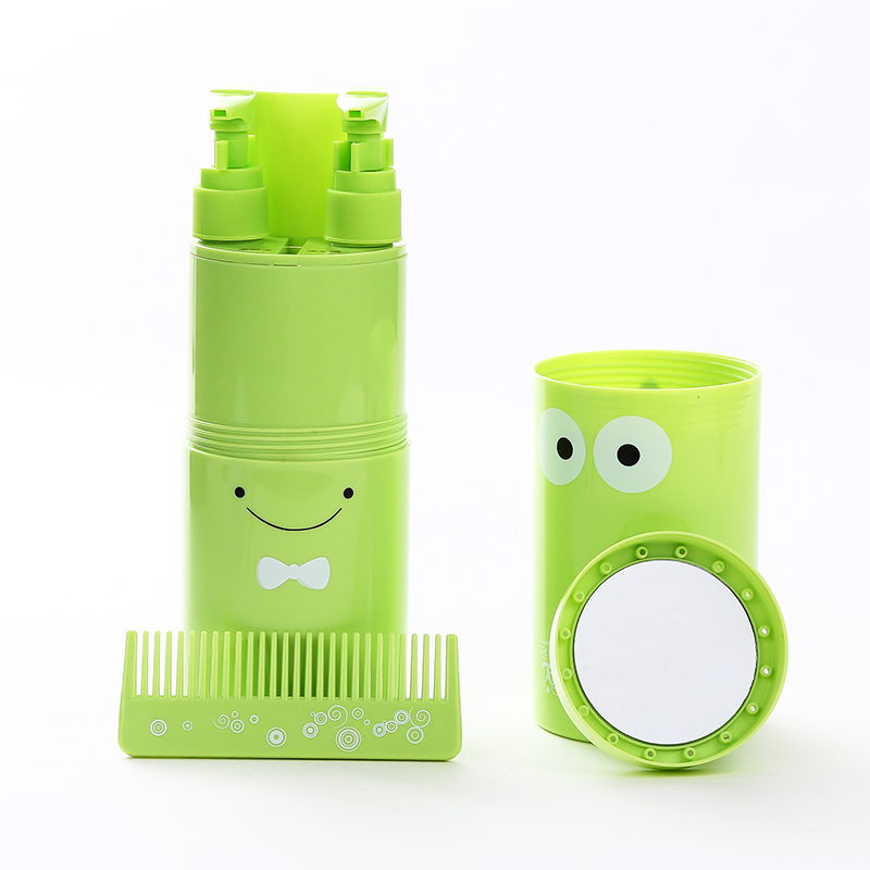 Travel wash cup portable set tour outdoor supplies toothpaste toothpaste cup towels to store box shampoo bottled