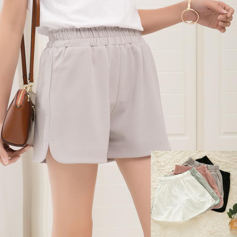 韩版雪纺热裤休闲宽松短裤