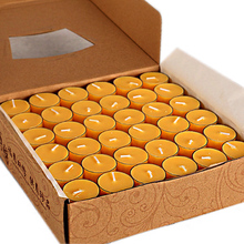 Yuantong Buddha's non-smoking butter lamp 108 pieces 4-hour package for Buddha wholesale butter candle household Buddha lamp