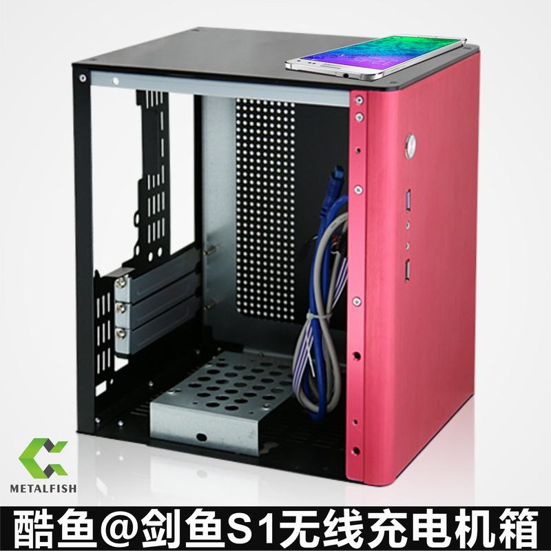电脑机箱 HTPC白色机箱\\迷你主机电脑小机箱\\独显双硬盘烤漆机箱