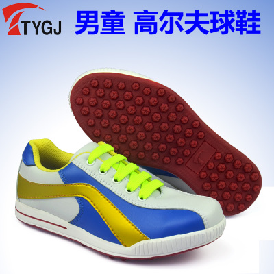 ! TYGJ authentic children's golf shoes boys boys casual sports fashion breathable