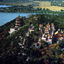 Electronic guide of the summer palace in Beijing