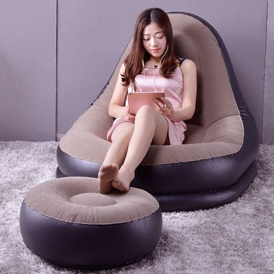 Bean Bag Lazy Sofa Single Living Room Balcony Leisure Bedroom Women Small Sofa Small Lazy Chair Bed Tatami Wash By Hand Elegant In Style Furniture