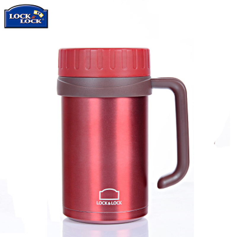 Korean music buckle music buckle table with mug stainless steel insulation  cold water cup 500ml Cup