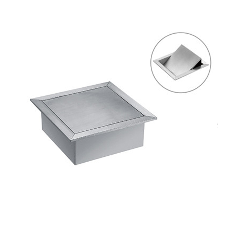 anmon kitchen bathroom vanity tops embedded decorative gaiyao square stainless steel trash can cover