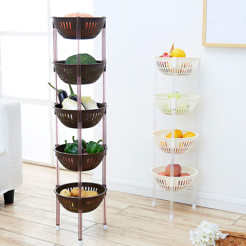 Home Home multi-layer floor-to-ceiling shelving corner storage rack kitchen vegetable & USD 16.75] Home Home multi-layer floor-to-ceiling shelving corner ...