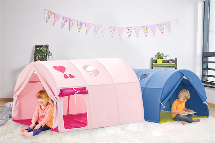 Child canopy bed canopy Bunk bed tent children bed decoration cloth art boy girl tent & USD 75.13] Child canopy bed canopy Bunk bed tent children bed ...
