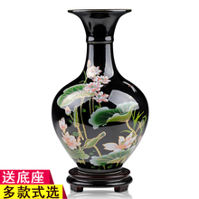 Jingdezhen Porcelain Vase ornament flower ornament in living room