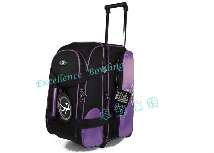 2013 новые товары сша ELITE элита 1680 стандартный двухместный мяч тележка боулинг пакет боулинг мешок фиолетовый