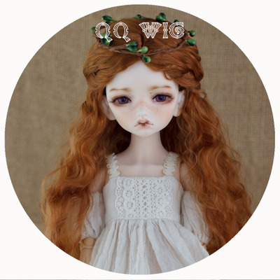 taobao agent 【QQ Wig】BJD/SD doll Mori Girl's instant noodle roll imitation mohair wig *Alice* in stock