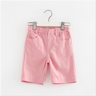 Counter brand discount children 's clothing girls neutral new pants fashion color pants 132097